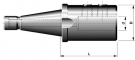 DIN 2080 - End mill holders for cutters with cylindrical shank and weldon flat DIN 1835-E (Whistle Notch)